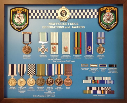 Police-Medals